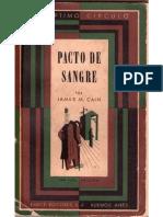 005 Pacto de Sangre - James M. Cain