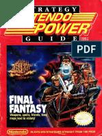 Nintendo Power Issue 017 Final Fantasy Strategy