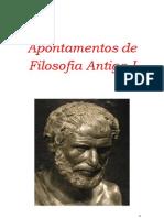 Apontamentos de Filosofia Antiga I