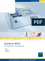 Brochure DiaSys StarDustMC15 Engl