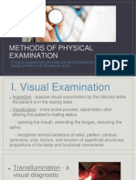 5 Methods of Examination
