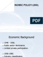 13709734 New Economic Policy 1991