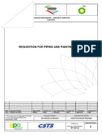 Requisition for Piping Work_A01IFR