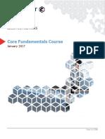 Core Fundamentals Course Student Guide v 11