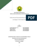 Model Asuhan Keperawatan Profesional Tim Kelompok 1 Menkep