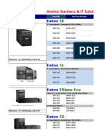 EATON Price List 2019 Singapore