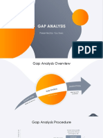 Gap analysis ppt