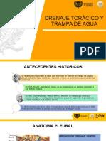 Drenaje Torácico y Trampa de Agua Grupo f
