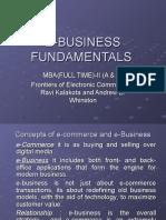 e Business Fundamental