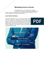 Social Media Marketing Course in Kerala