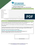 Form Registrasi TOT