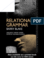 Barry Blake - Relational Grammar (Linguistic Theory Guides) (1990).pdf