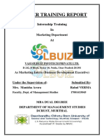 Summer Training Report (Rahul Verma , 17001433045 )