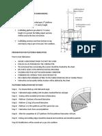 Preparation for Platform Fabrication