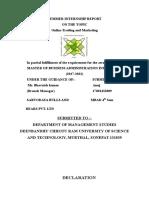 Summer Internship Report (1)