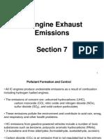 7. IC Engine Exhaust Emissions