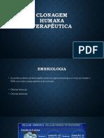 Clonagem Humana Terapêutica