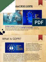 SuiteCRM GDPR Compliance | Outright Store
