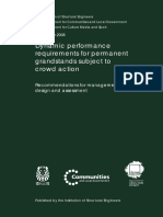 IStructE (2008) Dynamic Performance Requirements for Permanent Grandstands Subject to Crowd Action