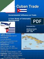US - Cuban Trade
