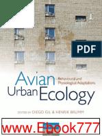 Avian Ecology