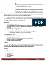 Technical Report Writing (1)