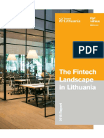 The Fintech Landscape in Lithuania Report 2018