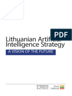 Lithuanian Artificial  Intelligence Strategy