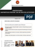 Prezentare Raport 100 de Zile