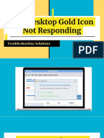 Easy solution for AOL Desktop Gold Icon Not Responding