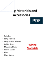 Wiring Materials and Accessories