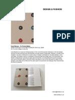 Karel Martens - Reprinted Matter