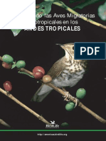 Conservando las Aves Migratorias Neotropicales en los Andes Tropicales..pdf