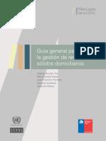 Guía General Para La Gestion de Residuos Solidos Domiciliarios