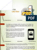 A Guide to Develop An App Like Uber