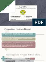 Formulasi Kapsul dan Evaluasi Kapsul Asam Mefenamat