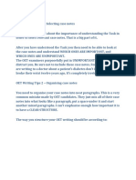 OET Writing Tips 1