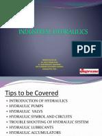 Industrial Hydraulics