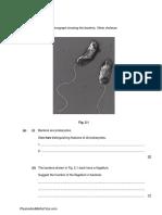 Characteristics & Classification of Living Organisms 1 QP