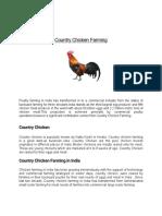 Country Chicken Farming