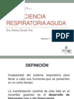 Semana 5 Sesión 3 Insuficiencia Respiratoria Aguda. Dra. Zavala