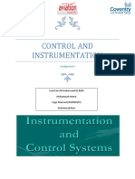 CONTROL AND INSTRUMENTATION