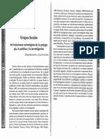 Kamberelis & Dimitriadis - Grupos focales