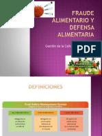 Apunte N° 6.1 Fraude Alimentario