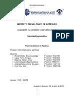 Sistemas Programables práctica TecITA