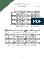 Cardozo - Canción de Cuna Costera (1) - Full Score