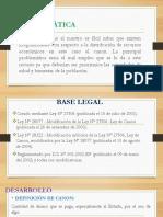 CANON PESQUERO Y ADUANERO PPT