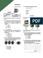 Examen Tipo Ece Área Matemática