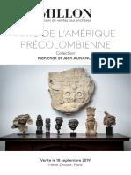 Objetos Prehispánicos a Subasta en París