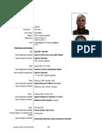 Updated CV